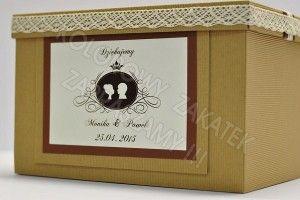 Pudełko na koperty eko VINTAGE