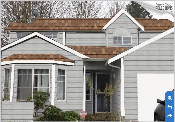 17 best images about brown roof house paint on pinterest - House colors with brown roof ...