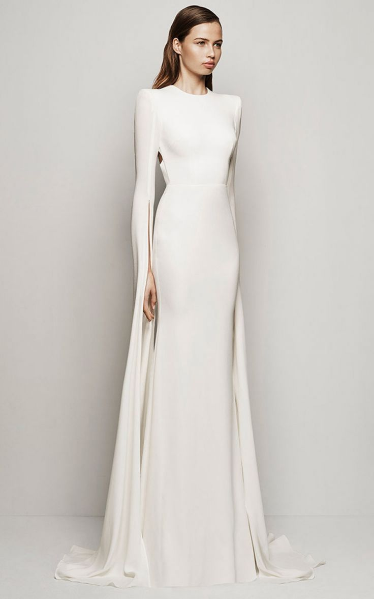 10 Chic Silhouettes For A Clic Bride Alex Perry Resort 2016 Courtney Dress