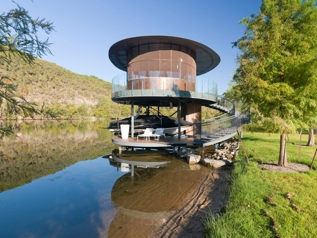 Best Boat Docks Images On Pinterest Boat Dock Boating And Boats - Awesome floating house shore vista boat dock by bercy chen studio