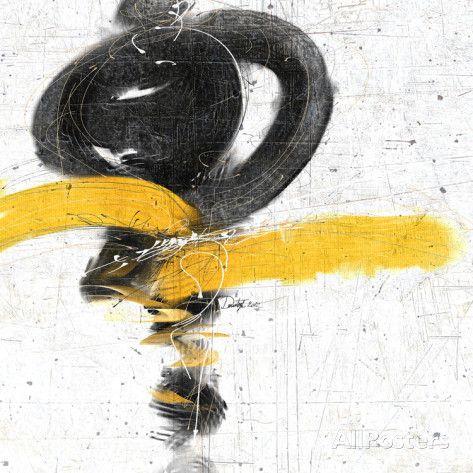 Zen in Yellow I Posters sur AllPosters.fr