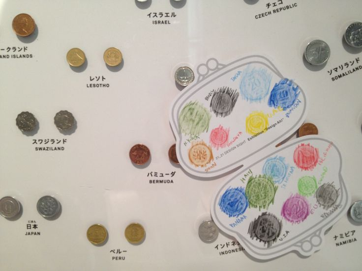 coins from all over the world :) exhibition @ roppongi
