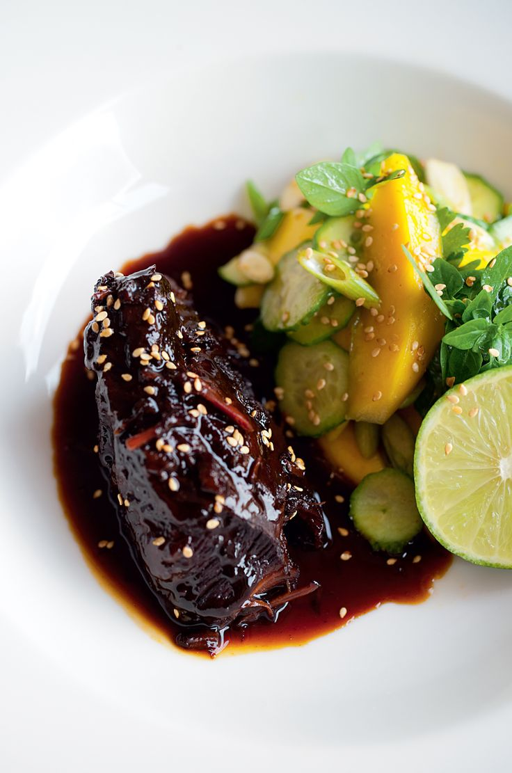 Sweet Soy Braised Beef Cheeks | Bruno Loubet-Nice