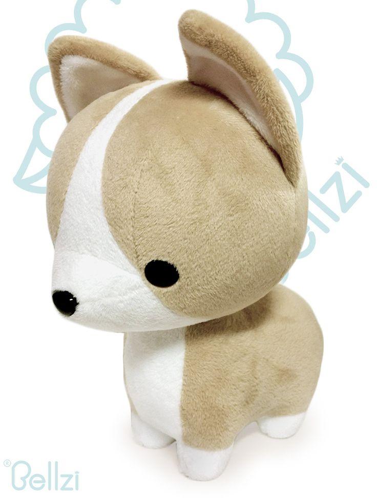 Bellzi® Cute Corgi Stuffed Animal Plush Toy - Corgi