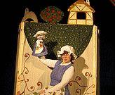 Gyerek előadás Bábszínház Batyu színház gyermek báb A mesélő vasaló, holle anyó stb