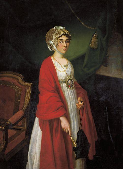 1803 Nikolai Argunov - Praskovya Ivanovna Zhemchugova-Sheremeteva