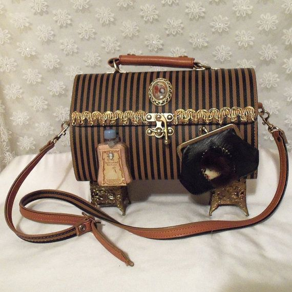 Victorian Upcycled Purse Haute Couture Handbag by HopscotchCouture, $357.00