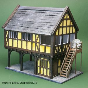 Easy Miniature Projects in 1:48 Scale: Building the 1:48 Scale Markland Market Hall