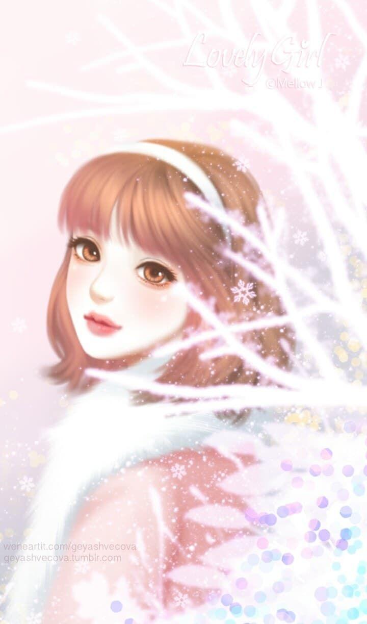 Enakei Uploaded By Geya Shvecova On We Heart It Cute Girl Wallpaper Art Girl Cute Cartoon Girl