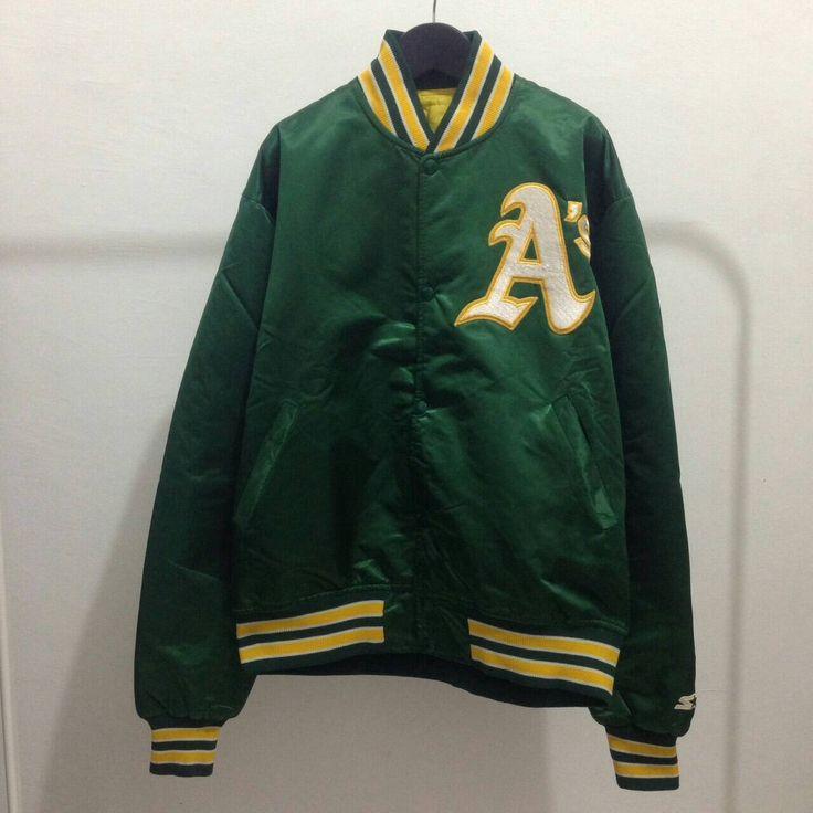 Oakland Athletics Varsity Jacket by Okubukovintagestuff on Etsy
