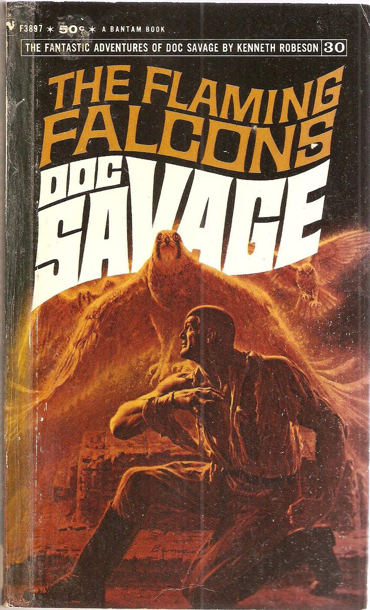 The Flaming Falcons Doc Savage 30 Original Issue June 1939