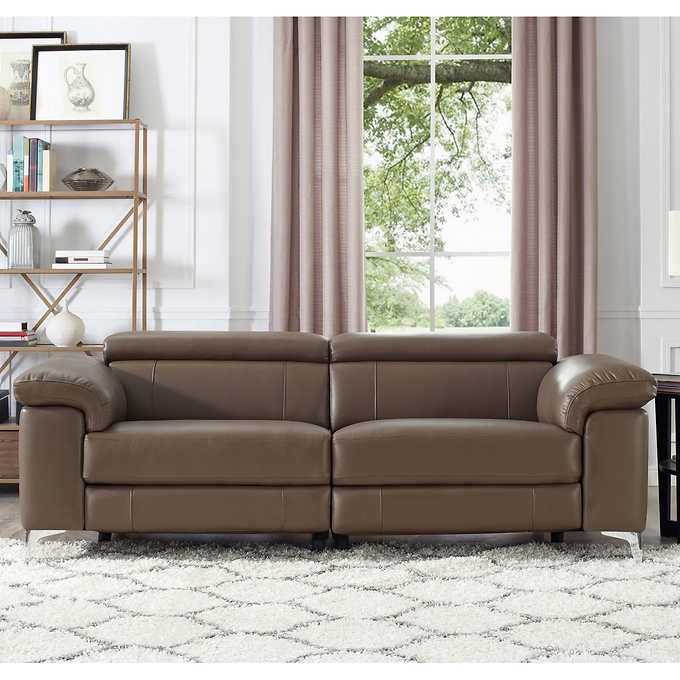 Highgate Top Grain Leather Sofa With Power Headrests And Recline Top Grain Leather Sofa Leather Sofa And Loveseat Leather Sofa