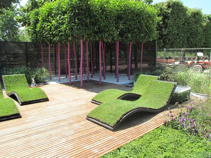 7 besten Jardin contemporain Bilder auf Pinterest   Räume