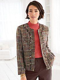 Neutral Tweed Jacket
