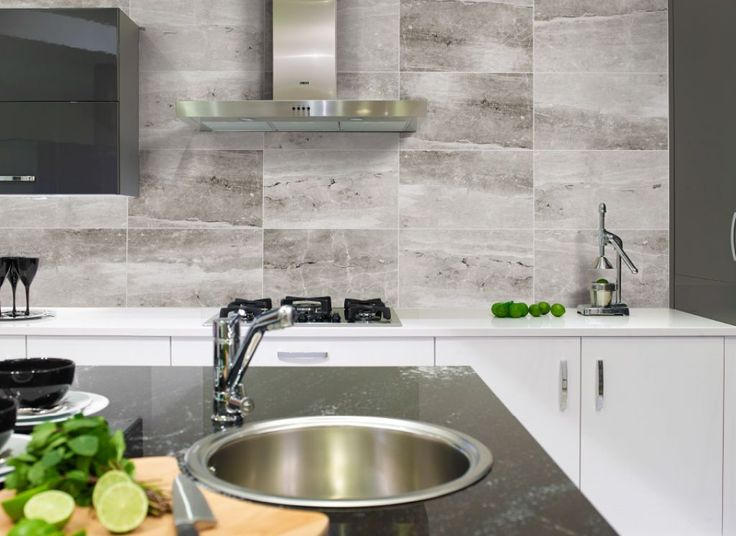 choosing the right kitchen tiles for walls - Ubahnaufkantung Grau
