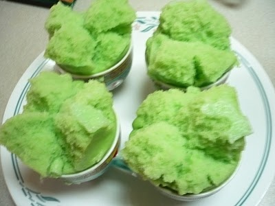 Banh Bò Bông / Vietnamese Smiling Steamed Rice Cakes / Cantonese Fatt Koh Recipe (TrucVy-Zoes Zone): Desserts Recipes, Asian Recipes, Rice Cakes, Koh Recipes, Vietnam Recipes, Palms Cakes, Chinese Recipes, Recipes Trucvy Zo, Recipes Trucvi Zo