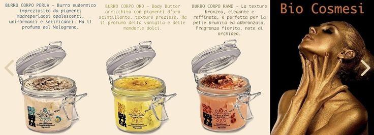 Burri Eudermici con polvere minerale pigmentate Oro , Rame e Diamante