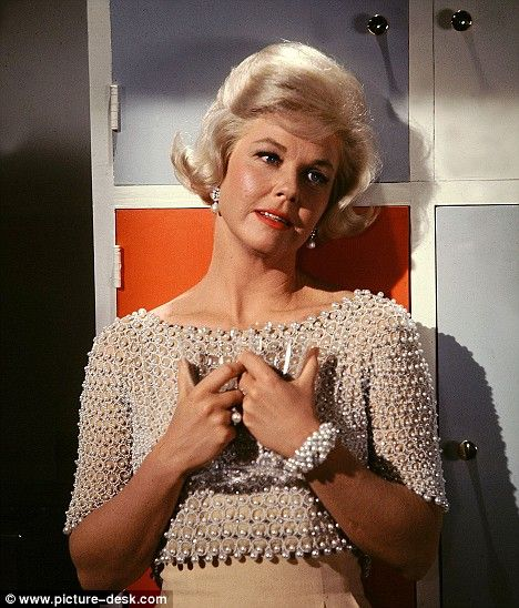 Hollywood great in 1961: Doris Day, here in the film Lover Come Back, became a byword for glamour