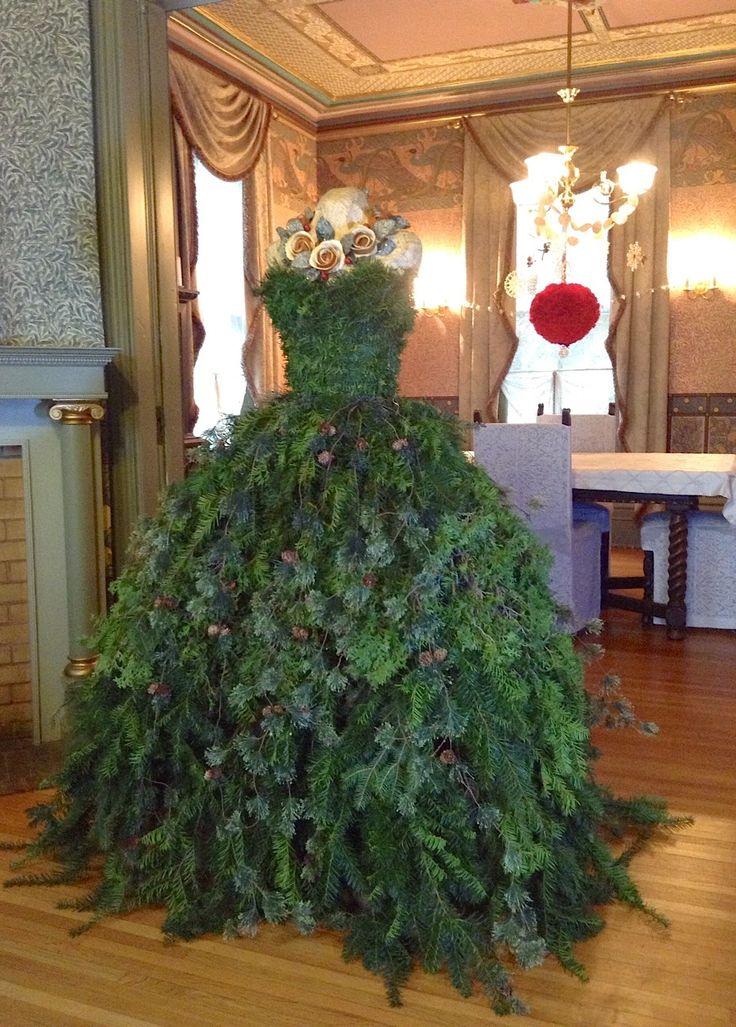 Christmas tree dress 2014 diy the countess new gown christmas