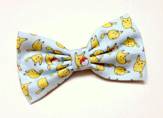 Pokemon Clip on Bow Tie for Men on Etsy, € 7,47