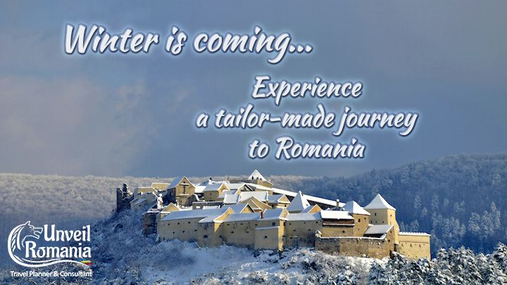 Winter is coming and, unlike Game of Thrones, it brings holidays and joy. Experience the concept of Time Travel with our tailor-made journeys through time! Check our Winter Offer and get your Free Draft Itinerary here: http://unveilromania.com/offers/