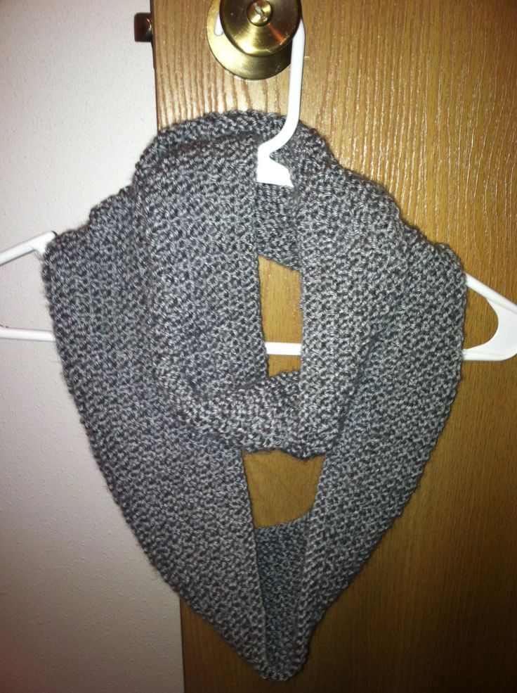 Infinity Scarf Knitting Pattern Size 8 Needles : 17 Best images about Knitting on Pinterest Yarns ...