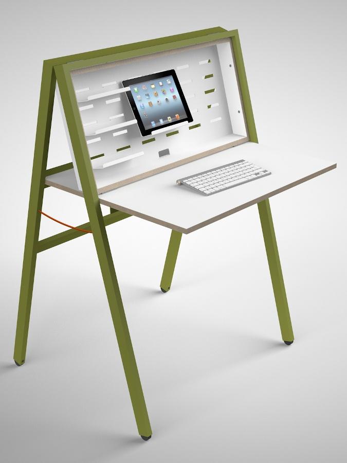 HIDEsk by Noroom   #design Michael Hilgers