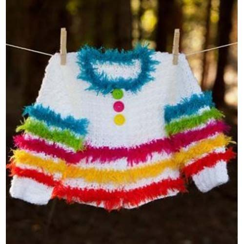 100 best crochetgirlssweater images on pinterest crochet use this kids crochet sweater pattern to make your child a fun and funky sweater the fuzzy rainbow sweater and colorful and playful sure to get your child fandeluxe Images