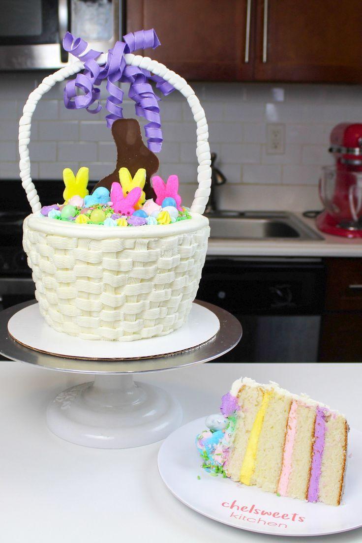 Easter Basket Cake Recipe Easter Basket Cake Easter Cakes