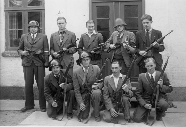 Danish Resistance, Odense 1945