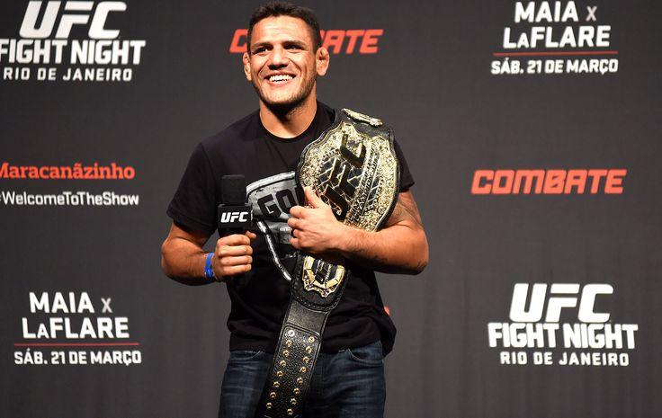 """""""Salvo"""" por esposa, Rafael dos Anjos revela que quase desistiu do MMA #sportv"""