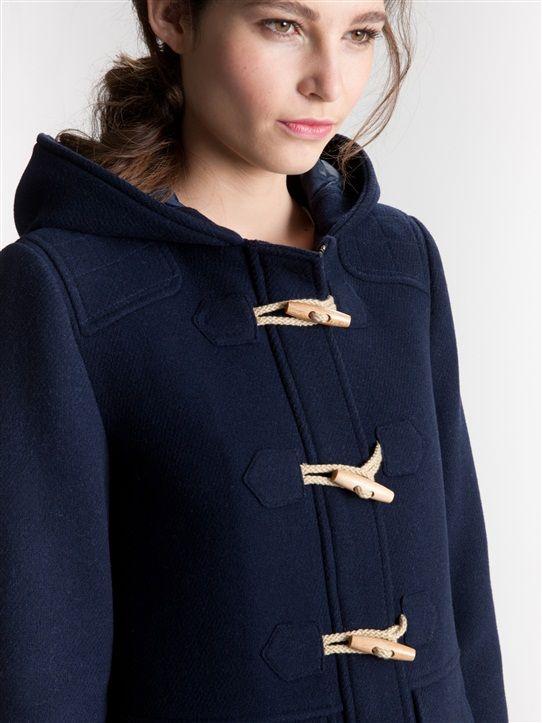 Bien-aimé Les 25 meilleures idées de la catégorie Manteau duffle coat sur  VG72