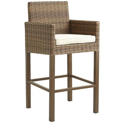 Echo Beach Bar Stool - Latte | Pier 1 Imports