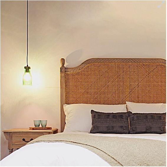 Oak bedhead l Rattan bedhead l Where to Buy Stylish Bedheads l STYLE CURATOR