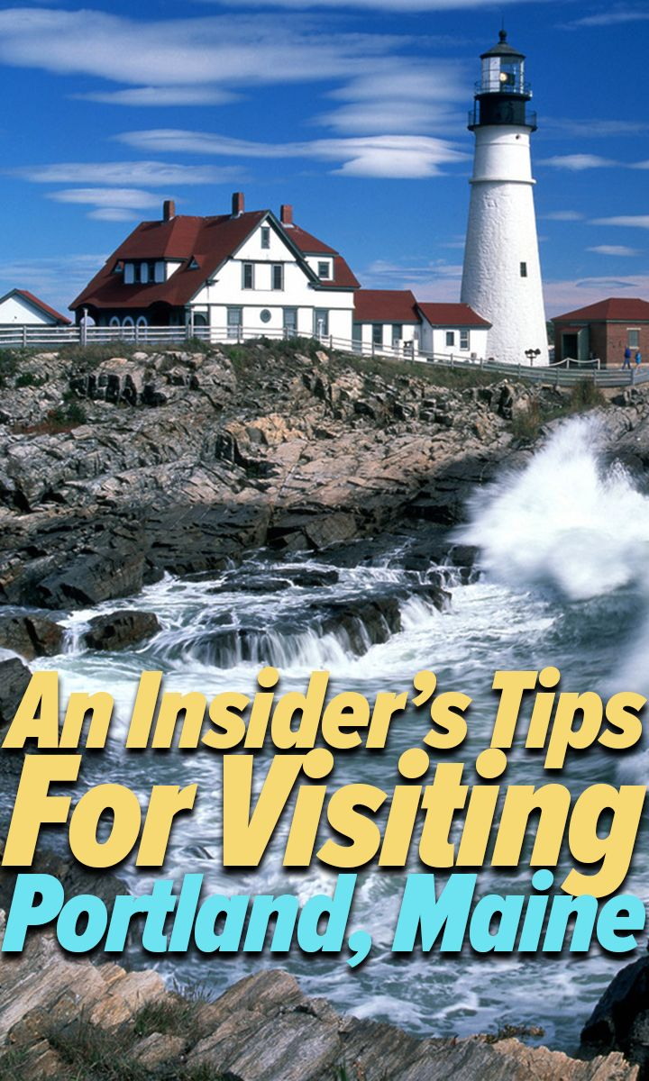 Why visiting Portland Maine is so great.