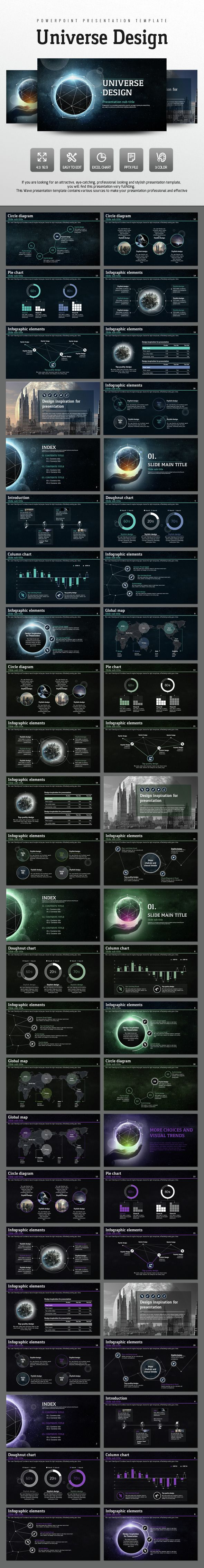Universe Design (PowerPoint Templates)                                                                                                                                                      もっと見る