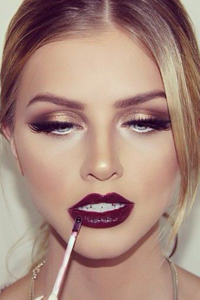 Autumn/Winter Beauty Trends. For more ideas, click the picture or visit www.sofeminine.co.uk