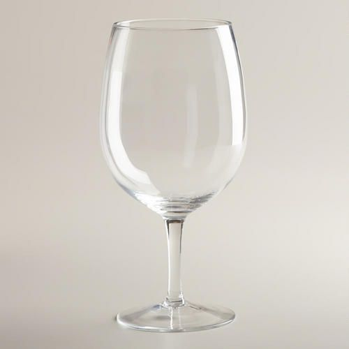 One of my favorite discoveries at WorldMarket.com: Friday Night Wine Glass