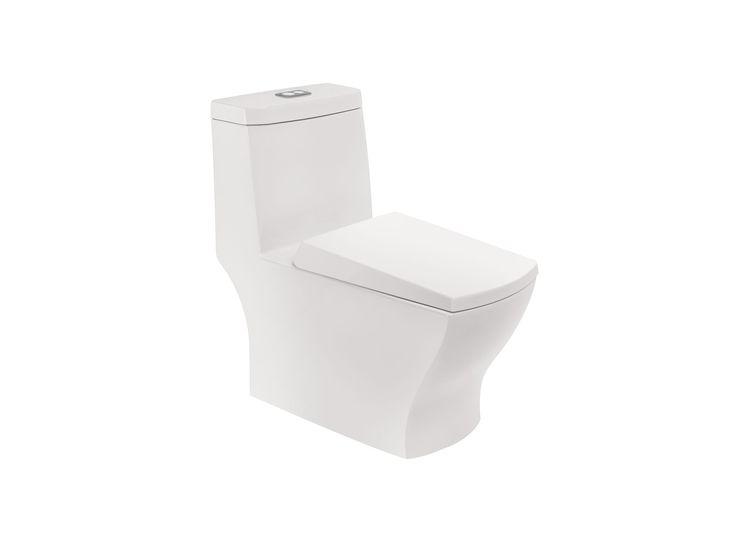 Muebles de Baño y Cocina Interceramic, este producto es de la línea Dublin, sanitario dublin una pieza ecologico 4.8 litros blanco. Visita nuestro sitio www.interceramic.com