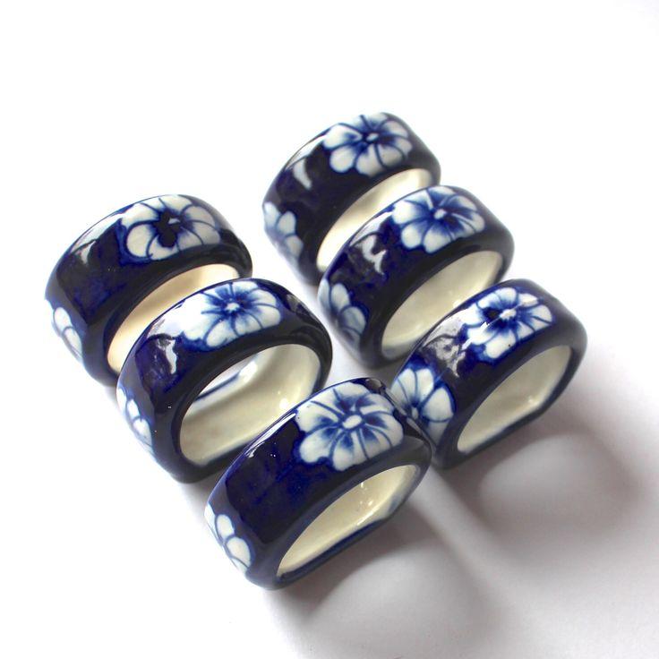 Asian napkin rings