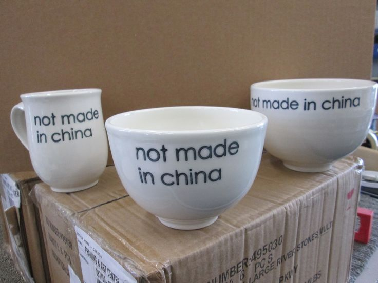 Hugo Didier Canadian Potter..Not Made In China. bowls and mugs.