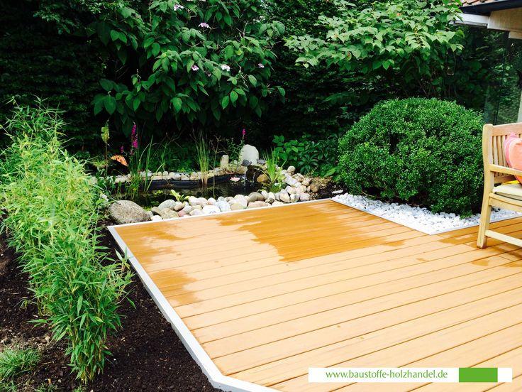 19 best Garten Terrassen aus UPM ProFi Deck Terrassendielen images - verputzte beton mauer bilder gartengestaltung