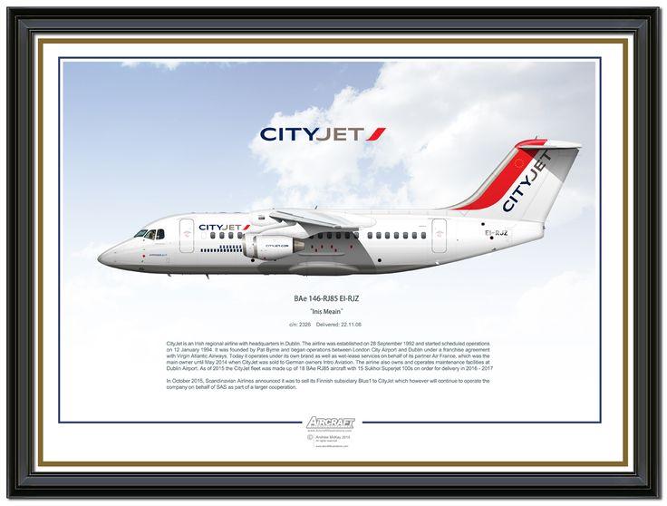 CityJet BAe 146 RJ85