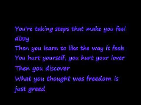 "▶ U2-Gone (Lyrics) - YouTube (one of the Best songs on POP)   ""You wanted to get somewhere so badly / You had to lose yourself along the way / You change a name well that's okay / It's necessary  / And what you leave behind / You don't miss anyway....  Goodbye """