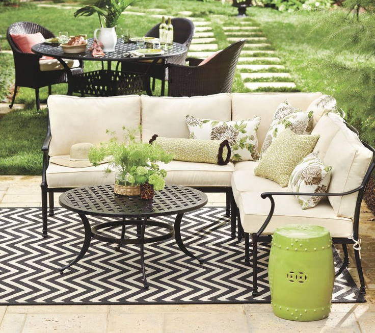Chevron Stripe Indoor/Outdoor Rug   Now Available At Ballarddesigns.com