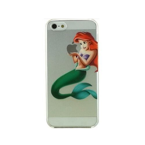 clear iphone 5c case transparent mermaid ariel clear phone cover 3765