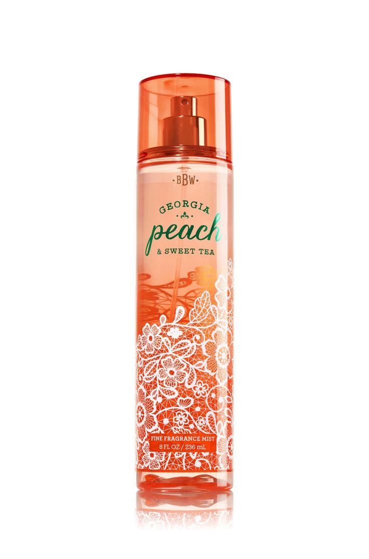 Bath & Body Works Fine Fragrance Mist Georgia Peach & Sweet Tea 8oz