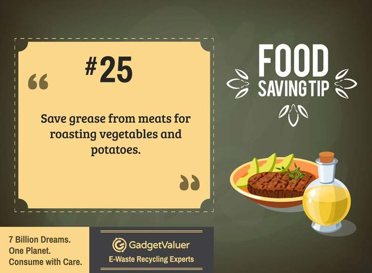 Food Saving Tip 25 | 150+ Sustainability Resources | #WED2015 #7BillionDreams #Sustainability
