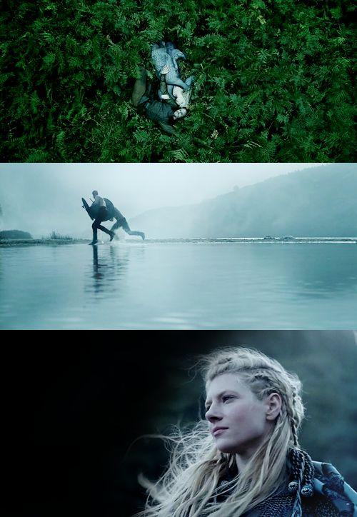 Floki, Helga, Rollo, Bjorn, and Lagertha