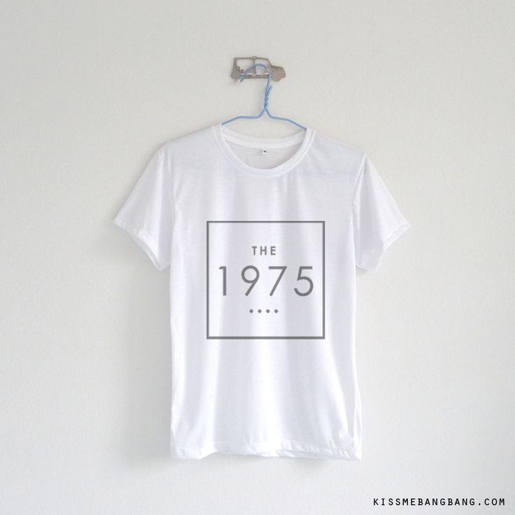 the 1975 square_Tshirt_White